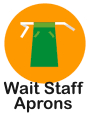waiters aprons
