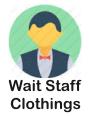 wait staff icon